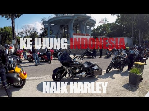 Naik HARLEY Ke KM 0 INDONESIA  (BANDA ACEH - SABANG)