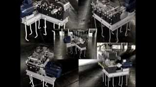 видео Редуктора цилиндрические трехступенчатые