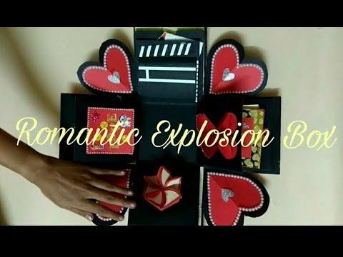 Diy | Romantic Explosion Box For Girl/boy Friend/anniversary ...