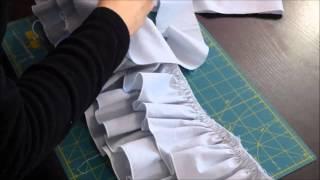 Dans cette dernière vidéo, nous allons coudre la jupe B très ample avec ses 3 volants. Aucune difficulté dans la construction de cette jupe, mais beaucoup de ...