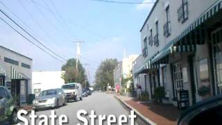 time lapse video of driving in greensboro nc