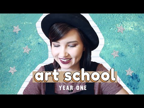 YEAR ONE: ART SCHOOL EXPERIENCE