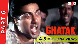 Ghatak | Part 6 | Sunny Deol, Meenakshi Seshadri, Danny Denzongpa | B4U Mini Theatre