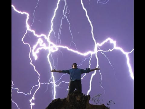 Image result for lightning strikes guy