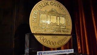 Faszination Gold - Big Phil in Fulda bei der VR Genossenschaftsbank