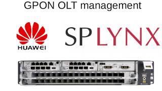 Splynx GPON Huawei