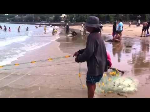 Kéo lưới bãi trước Vũng Tàu