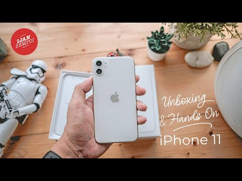 iPhone 11 White Color (Unboxing & Hands-on)