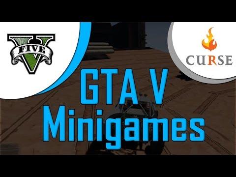 GTA V Live w/ friends [Mini games]