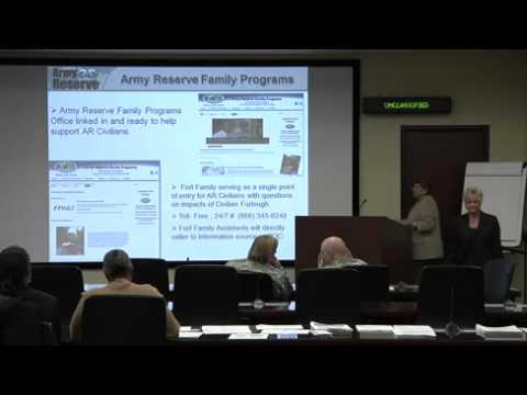 Headquarters, USARC Employee Assistance Seminar: Preparing for Administrative Civilian Furlough