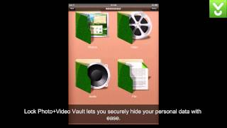 Lock Photo+Video Vault - Hide personal data on iOS - Download Video Previews