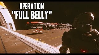 """Collecting """"cargo"""" with Caterpillar on Crusader aka Operation """"Full Belly"""" (Part I)"""