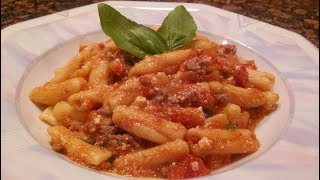 How to cook Cavatelli In A Ricotta Bolognese Sauce Recipe