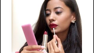 How to Apply Lipstick like a Pro with a Q-Tip for Beginners|In Detail|