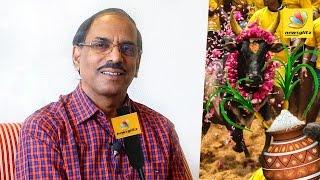 pattimandram raja speech about jallikattu ban and pongal celebration