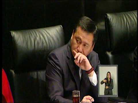 Comparecencia del Secretario de Gobernación Miguel Ángel Osorio Chong 1