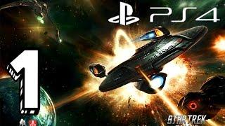 Star Trek Online PS4 Gameplay Federation Campaign - Starfleet Part 1 No Commentary HD