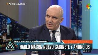 """José Luis Espert en """"Animales Sueltos"""" por América el 03 de Septiembre de 2018"""