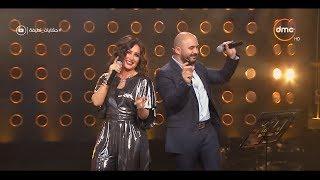 """حكايات لطيفة - محمود العسيلي يغني مع لطيفة """" يا ناس """" في سهرة ممتعة جداً"""