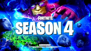 *NEW* FORTNITE SEASON 4 CHAPTER 2 ANNOUNCE TRAILER! ALL DETAILS & LEAKS!: BR