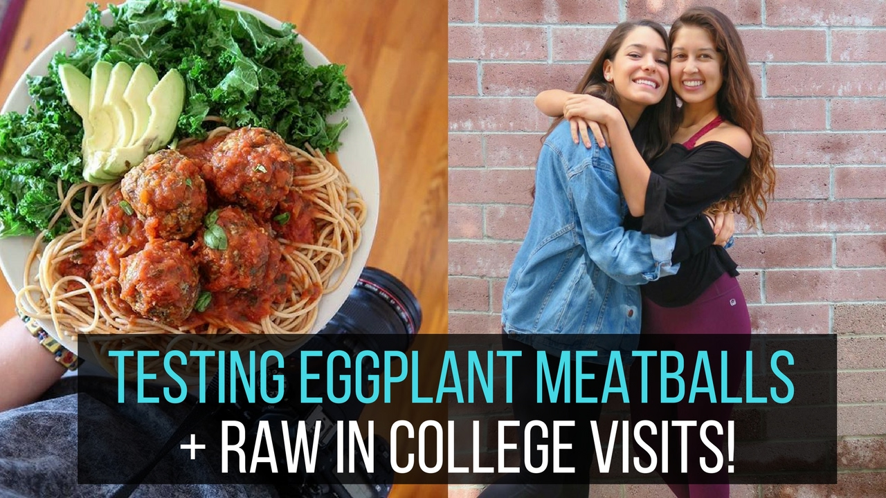 Vegan Meals for My Non Vegan Parents & Testing Eggplant Meatballs | Weekly Vlog