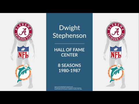 Dwight Stephenson: Hall of Fame Football Center