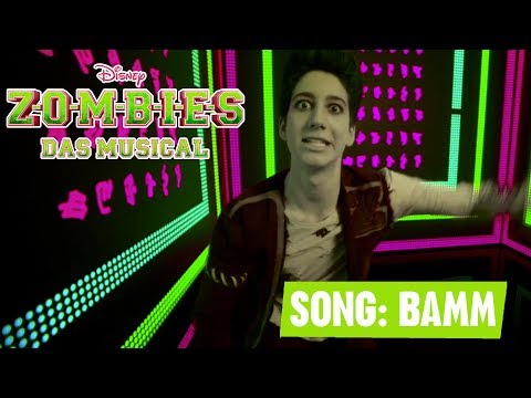 ZOMBIES - DAS MUSICAL 🎵 Bamm - Milo Manheim 🎵 | Disney Channel Songs