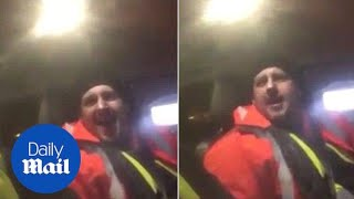 Hilarious moment man sings his McDonald's order and they sing back - Daily Mail