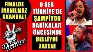 O Ses Türkiye Finalinde Skandal Yaşandı! Şampiyon Dakikalar Öncesinde Belliydi Zaten?