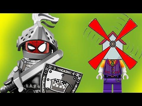 КАК СТАТЬ РЫЦАРЕМ или ДОН ХАЛКОТ? Новые Лего мультики на русском 2017. #Мультфильм