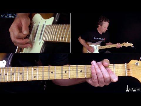 ACDC  Whole Lotta Rosie Guitar Lesson Rhythms