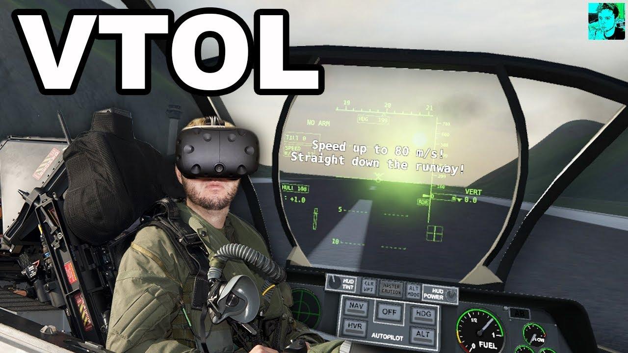 THE ULTIMATE VIRTUAL REALITY FLIGHT SIMULATOR?   VTOL VR Gameplay (HTC Vive)
