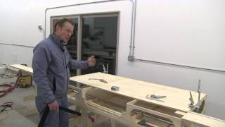 Building The Paulk Total Station Part 8 Detail & Install Bench Top