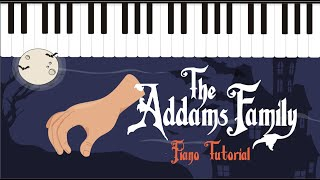 How to play the Addams Family theme - Easy Piano Tutorial - Hoffman Academy