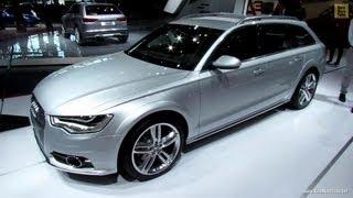 2013 Audi A6 Allroad Quattro - Exterior and Interior Walkaround - 2012 Paris Auto Show