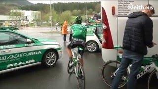 El equipo desde dentro - Vuelta País Vasco 2016