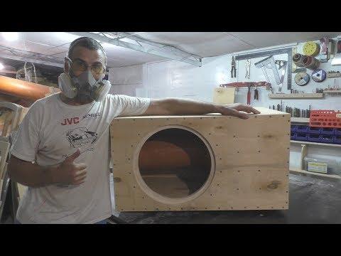 Короб под 15 сабвуфер своими руками Box For 15 Diy Subwoofer