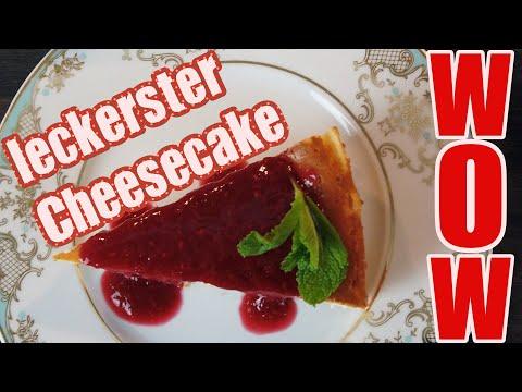Wie aus der Konditorei - Der leckerste Cheesecake ever!