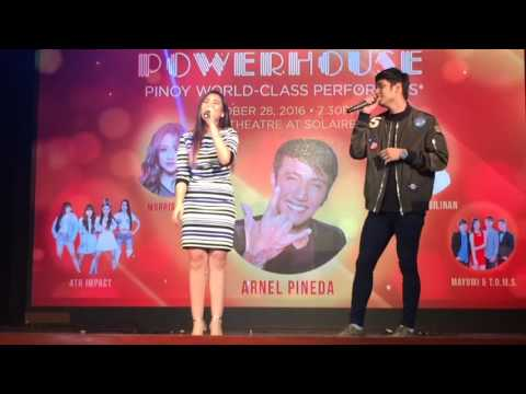 Michael Pangilinan & Morissette Amon - Secret Love Song LIVE