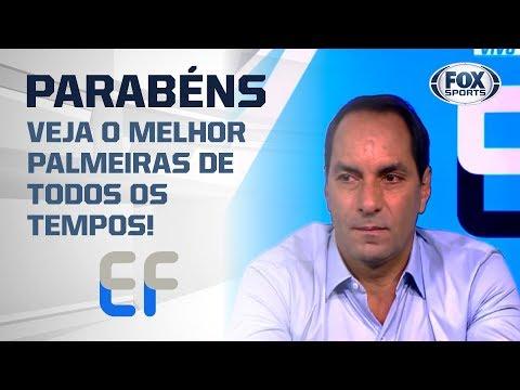 Edmundo entra na seleção histórica do Palmeiras no 'Expediente Futebol' e se emociona