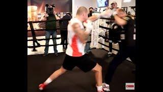 Krzysztof Głowacki. Maxim Vlasov media workout, Chicago #AliTrophy #boxing