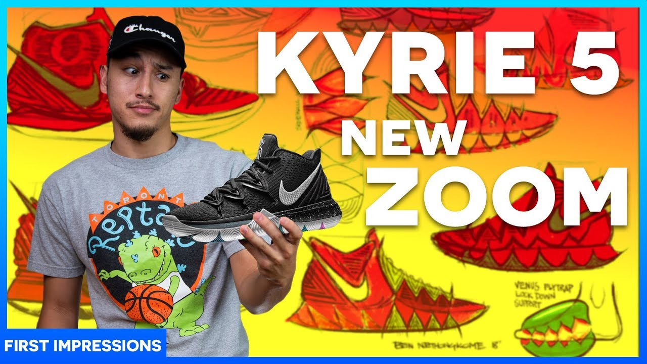 NIKE KYRIE 5 - Review First Impression (+Release Date) - YouTube d374cf0d9