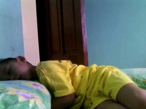 Tidurlah nak!!! - Mamah sayang Galuh