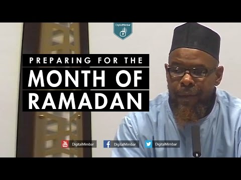 Preparing for the Month of Ramadan - Abu Usamah