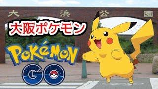 【ポケモンGO】ピカチュウの巣!8月2日【大浜公園】