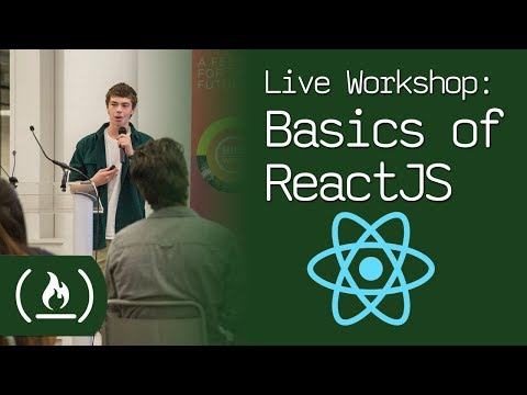 Live Workshop: Basics of ReactJS