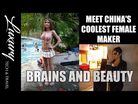 Naomi Wu AKA Sexy Cyborg China's Coolest Female Maker.