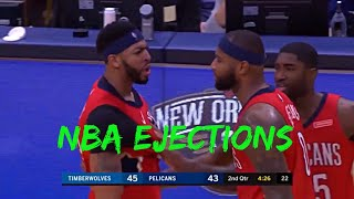 NBA Greatest Ejections
