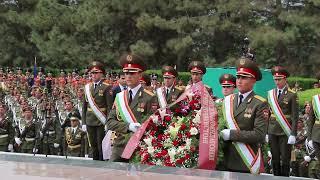 Парад Победы в Таджикистане - 2015