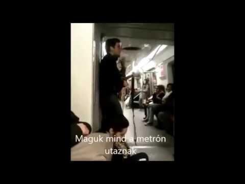 A budapesti metróállapot - Egy chilei zenész előadásában
